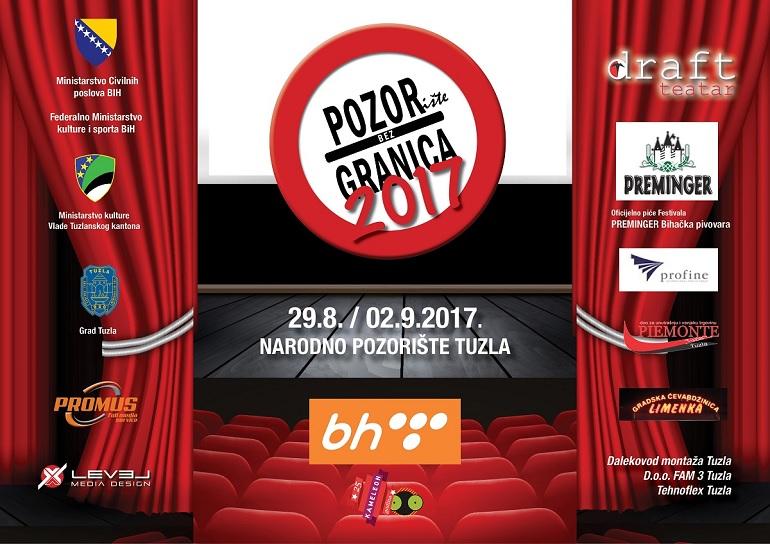 """29.08-02.09: """"Pozorište bez granica 2017"""" (PROGRAM)"""